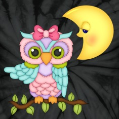 Girl Owl T-Shirts