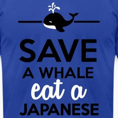 Dining - Save a whale eat a Japanese T-Shirts