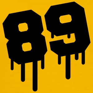 Number 89 Graffiti T-Shirts - Men's Premium T-Shirt