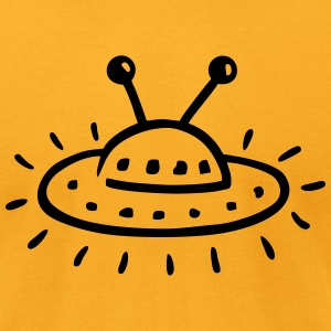UFO aliens T-Shirts - Men's T-Shirt by American Apparel