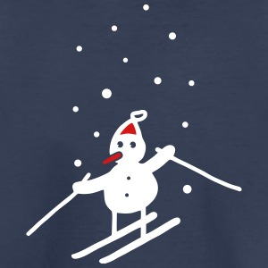 Snowman & snowflakes - V2 Baby & Toddler Shirts - Toddler Premium T-Shirt