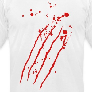scratch marks T-Shirts - Men's T-Shirt by American Apparel