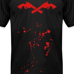 revolver - colt T-Shirts - Men's T-Shirt by American Apparel
