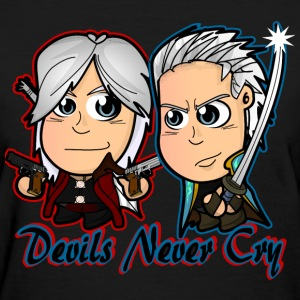 Chibi Devil May Cry - DMC Women's T-Shirts - Women's T-Shirt