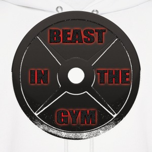 Beast In The Gym Hoodies - Men's Hoodie
