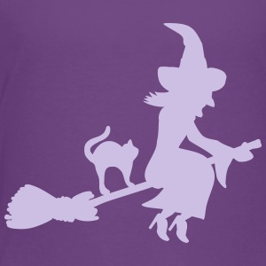 Witch Kids' Shirts - Kids' Premium T-Shirt