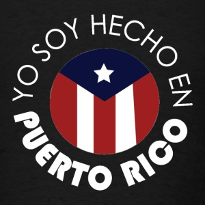 Made in Puerto Rico WH T-Shirts - Men's T-Shirt