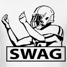 SWAG FOOTBALL PLAYER T-Shirts