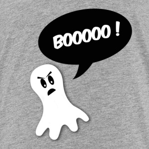 boo ! ghost black bubble Baby & Toddler Shirts - Toddler Premium T-Shirt