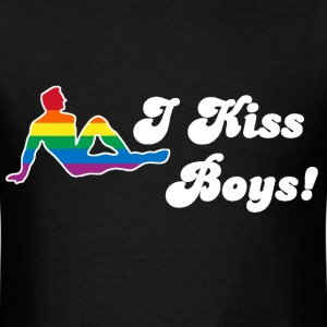 I Kiss Boys - Men's T-Shirt
