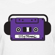 Design ~ MyMusic Cassette Face (Women's)