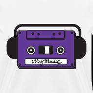 Design ~ MyMusic Cassette Face (Women's)