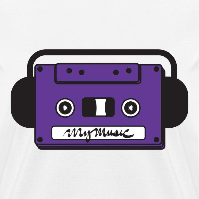 MyMusic Cassette Face (Women's)