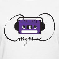 Design ~ MyMusic Ribbon (Women's)