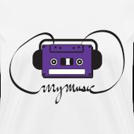Design ~ MyMusic Ribbon (Women's)
