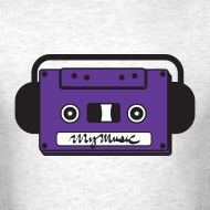 Design ~ MyMusic Cassette Face (Men's)