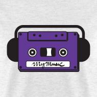 Design ~ MyMusic Cassette Face (Men's)
