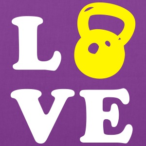 Love Kettlebell For Crossfit Bags & backpacks - Tote Bag