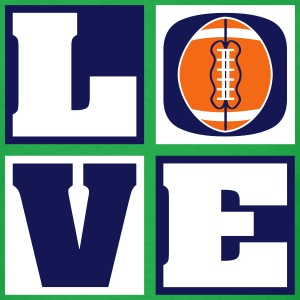 Love Football! T-Shirts (Men's) - Men's T-Shirt