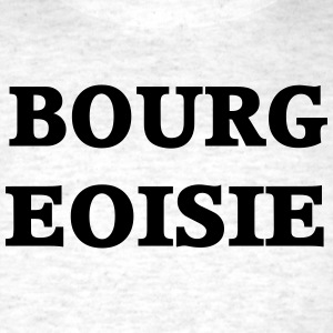 Bourgeoisie Grey Crewneck - Men's T-Shirt