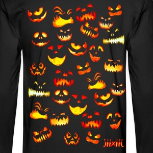 Halloween grimaces Long Sleeve Shirts - Men's Long Sleeve T-Shirt