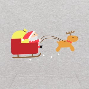 Merry Christmas with Cute Santa and Reindeer Sweatshirts - Kids' Hoodie