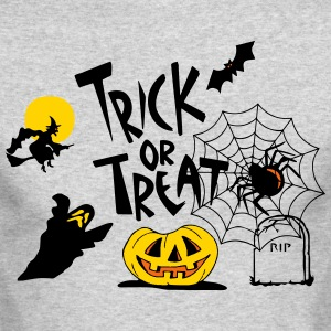 TRICK OR TREAT Long Sleeve Shirts - Men's Long Sleeve T-Shirt by Next Level