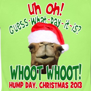 Hump Day Camel Santa Christmas 2013 Baby One Piece - Short Sleeve Baby Bodysuit
