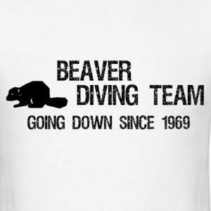 Beaver Diving Team - Men's T-Shirt