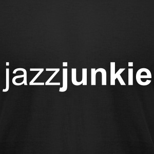 Jazzjunkie Men - Men's T-Shirt by American Apparel