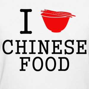 i love chinese food - Women's T-Shirt