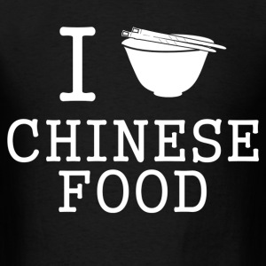 i love chinese food - Men's T-Shirt