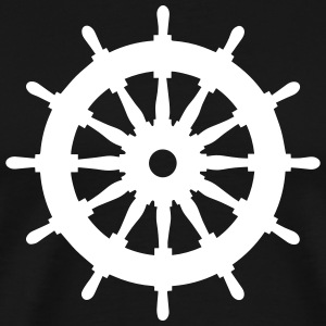 Steering Wheel Steerwheel 1c T-Shirts - Men's Premium T-Shirt