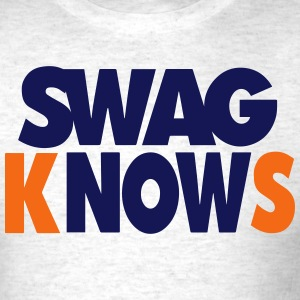 SWAG KNOWS T-Shirts - Men's T-Shirt