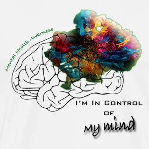 I'm In Control Of My Mind - Men's Premium T-Shirt