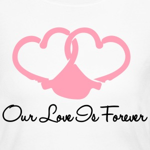 Our Love Is Forever Long Sleeve Shirts - Women's Long Sleeve Jersey T-Shirt