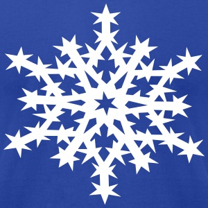snowflake T-Shirts - Men's T-Shirt by American Apparel