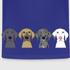 Four Great Dane Heads Baby & Toddler Shirts - Toddler Premium T-Shirt