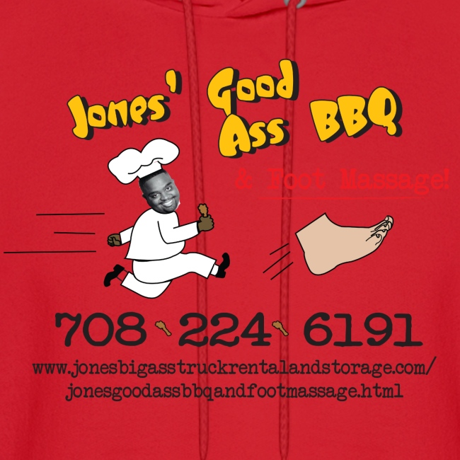 Jones Good Ass T-Hoody - BBQ  Sauce Red
