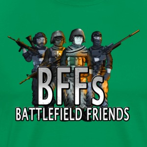 BFFs Battlefield Friends Hank & Jed T-Shirts - Men's Premium T-Shirt