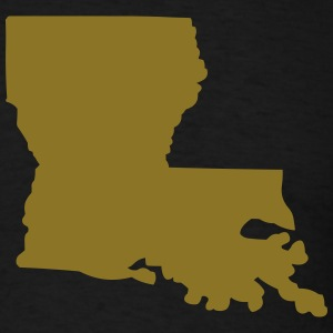 State of Louisiana T-Shirts - Men's T-Shirt