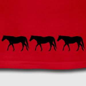 Horses in a row - Women's Long Sleeve Jersey T-Shirt