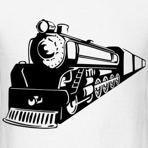 Train Oncoming T-Shirts - Men's T-Shirt