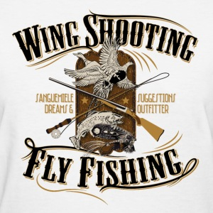 wingshooting_fly_fishing Women's T-Shirts - Women's T-Shirt
