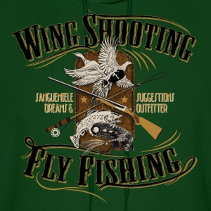 wingshooting_fly_fishing Hoodies - Men's Hoodie