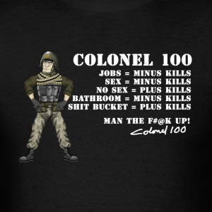 Colonel 100 Hank & Jed T-Shirts - Men's T-Shirt