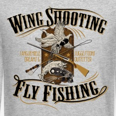 wingshooting_fly_fishing Long Sleeve Shirts