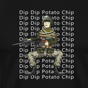 Dip Dip Potato Chip Hank & Jed T-Shirts - Men's Premium T-Shirt