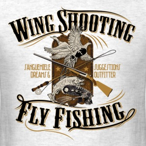 wingshooting_fly_fishing T-Shirts - Men's T-Shirt
