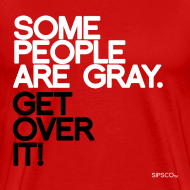 Design ~ Gray Pride - Men's Tee